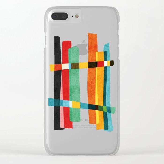 Broken Fences Clear iPhone Case