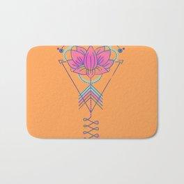 Symbol Art:  Lotus Magic Bath Mat