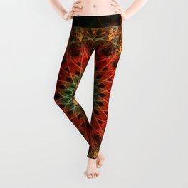 Autumn mandala Leggings