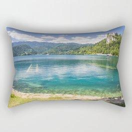 Bled lake Rectangular Pillow