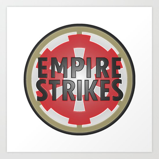 Empire Strikes Tobacco Art Print