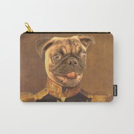 General Pugs Portrait Painting | Pug Lovers only! Carry-All Pouch