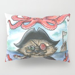 Captain Barnacles The Cat Pillow Sham