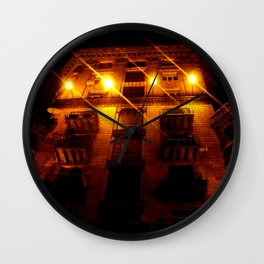 Night Crest 2 Wall Clock