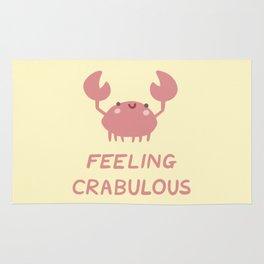 Feeling Crabulous Rug