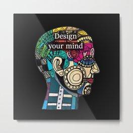 Mind blow Metal Print
