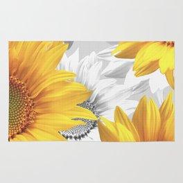 Sunflower Bouquet #decor #society6 #buyart Rug