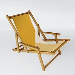 Mustard Tones Sling Chair