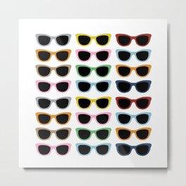 Sunglasses #4 Metal Print