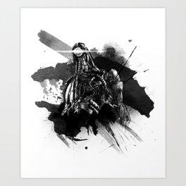 We Are Many - Legion Fanart Art Print