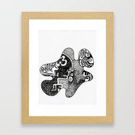 her piece  Framed Art Print