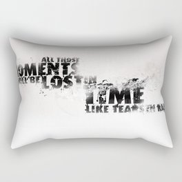 Moments Lost Rectangular Pillow