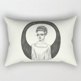 The Bride Rectangular Pillow