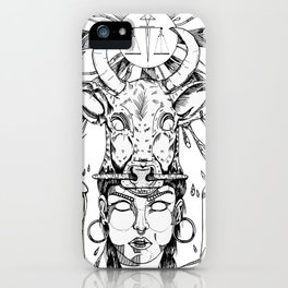 ethnicgirl iPhone Case