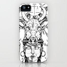 ethnicgirl iPhone Case
