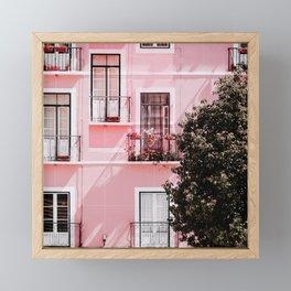 Pink Portals Framed Mini Art Print