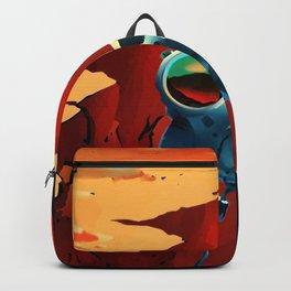 NASA Mars Recruitment Poster - Explorers Wanted Backpack