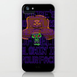 The Hot Winds Of Hell iPhone Case