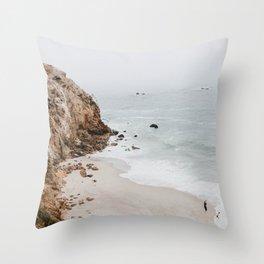 malibu coast / california Throw Pillow