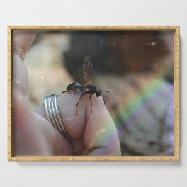 Spider Wasp Serving Tray