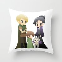 ouat Throw Pillows featuring OUAT - Outlaw Queen by Choco-Minto