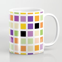 City Blocks - Eggplant #490 Coffee Mug