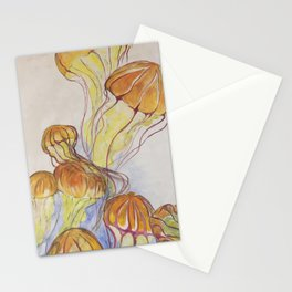 Sea Jelly Bloom Stationery Cards
