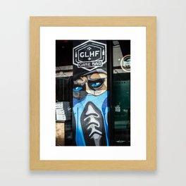 The Jacksonville Landing - Game Bar Framed Art Print