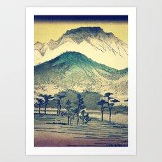Looking Forward to Hakuso Art Print