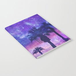 Palm Beach Galaxy Universe Watercolor Notebook