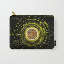 Bitcoin Blockchain Cryptocurrency Carry-All Pouch