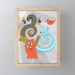 A life Framed Mini Art Print