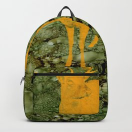 Deer on Green Camo Backpack