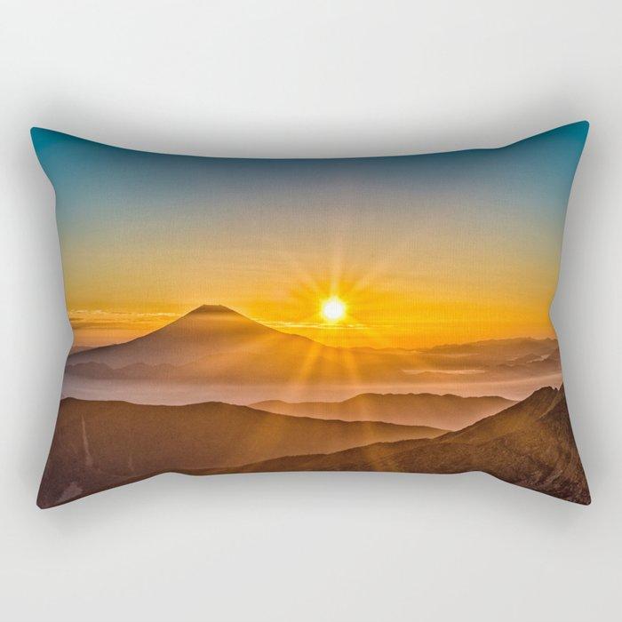 Mt Fuji II Rectangular Pillow