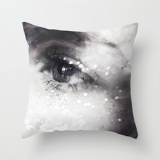 The Oracle - Black and White Magical Vision Throw Pillow