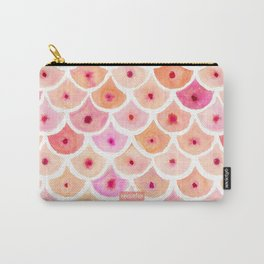 BEWBS Boobs Watercolor Scallop Carry-All Pouch