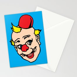 clown art, clown illustration, clown pop art, home decor Stationery Cards