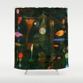 "Paul Klee ""Fish Magic"" Shower Curtain"