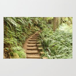 Stairway to the Forest Rug