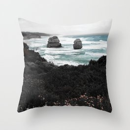 Relics of the Ocean Throw Pillow