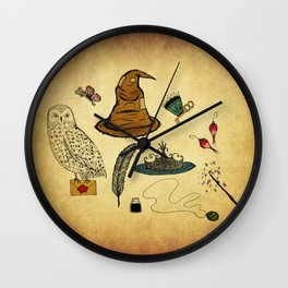 Magical Artifacts Wall Clock