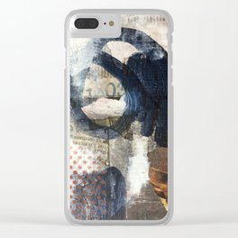 Something French Clear iPhone Case