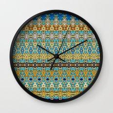 Mix&Match Byzantine Mosaic 02 Wall Clock