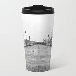 Dreary Pier Travel Mug