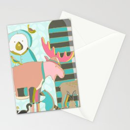 A Pink Moose Stationery Cards