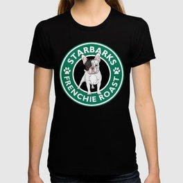 Funny Mug French Bulldog Starbarks Frenchie Roast T-shirt