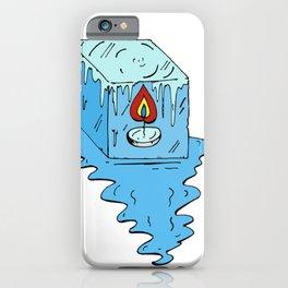 Hot ice iPhone Case