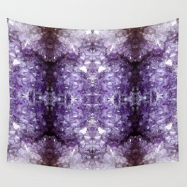 Reflected Amethyst Wall Tapestry