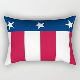 State flag of Texas, official banner orientation Rectangular Pillow