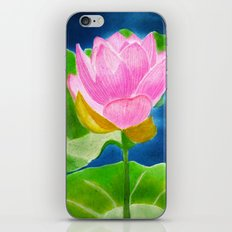 Pink Lotus Beauty iPhone & iPod Skin